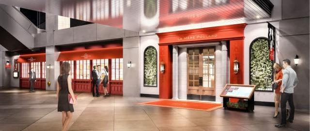 画像: 「ラ・メール・プラール東京」外観。フランス本店と同じく赤を基調にしたデザインにリニューアルされました。