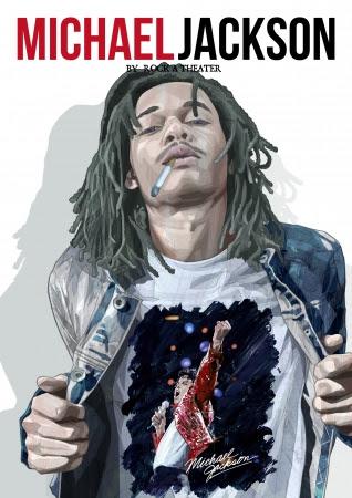画像: マイケル・ジャクソンx有名アーティストTシャツ出た!河原光デザインに津田匠、黒沢薫と超豪華