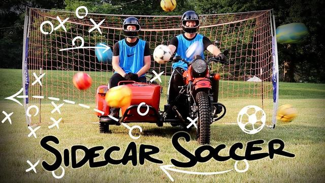 画像: Sidecar Soccer | Ural Motorcycles youtu.be