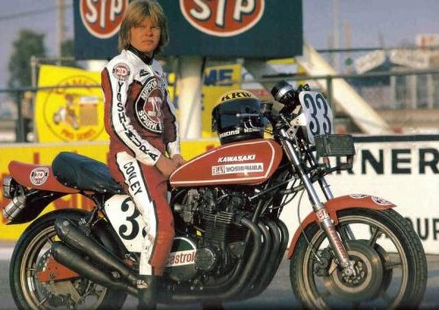 画像: ヨシムラのエースとして活躍したウェス・クーリー。この後ヨシムラはカワサキZ1からスズキGS1000にスイッチ。クーリーは1979、1980年のチャンピオンに輝きました。 www.rastec.nl