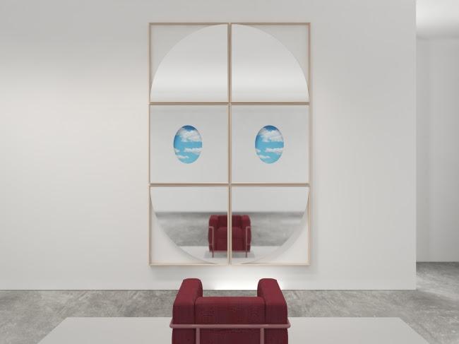 画像: DEADLINE QUARTO, OVAL DREAM W1000×H1000×t46  各¥198,000(税抜) 機能的にインテリアを装飾する、様々な形状のアート作品のようなミラーコレクション。この複雑な視覚的効果は見る角度によって異なる表情を見せ、変化するアートとしても楽しむことができます。そして、既存の12種類のコレクションと複数枚組み合わせることで、より一層個性的に壁面を彩ります。
