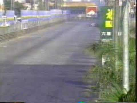 画像: Schumacher vs Hakkinen - Macau 1990 youtu.be