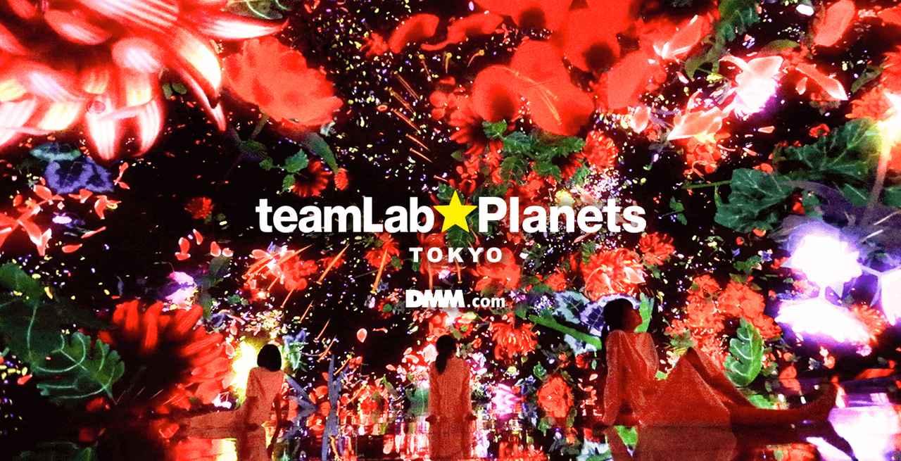 画像: チームラボ プラネッツ TOKYO チケットストア - 入場チケットの販売