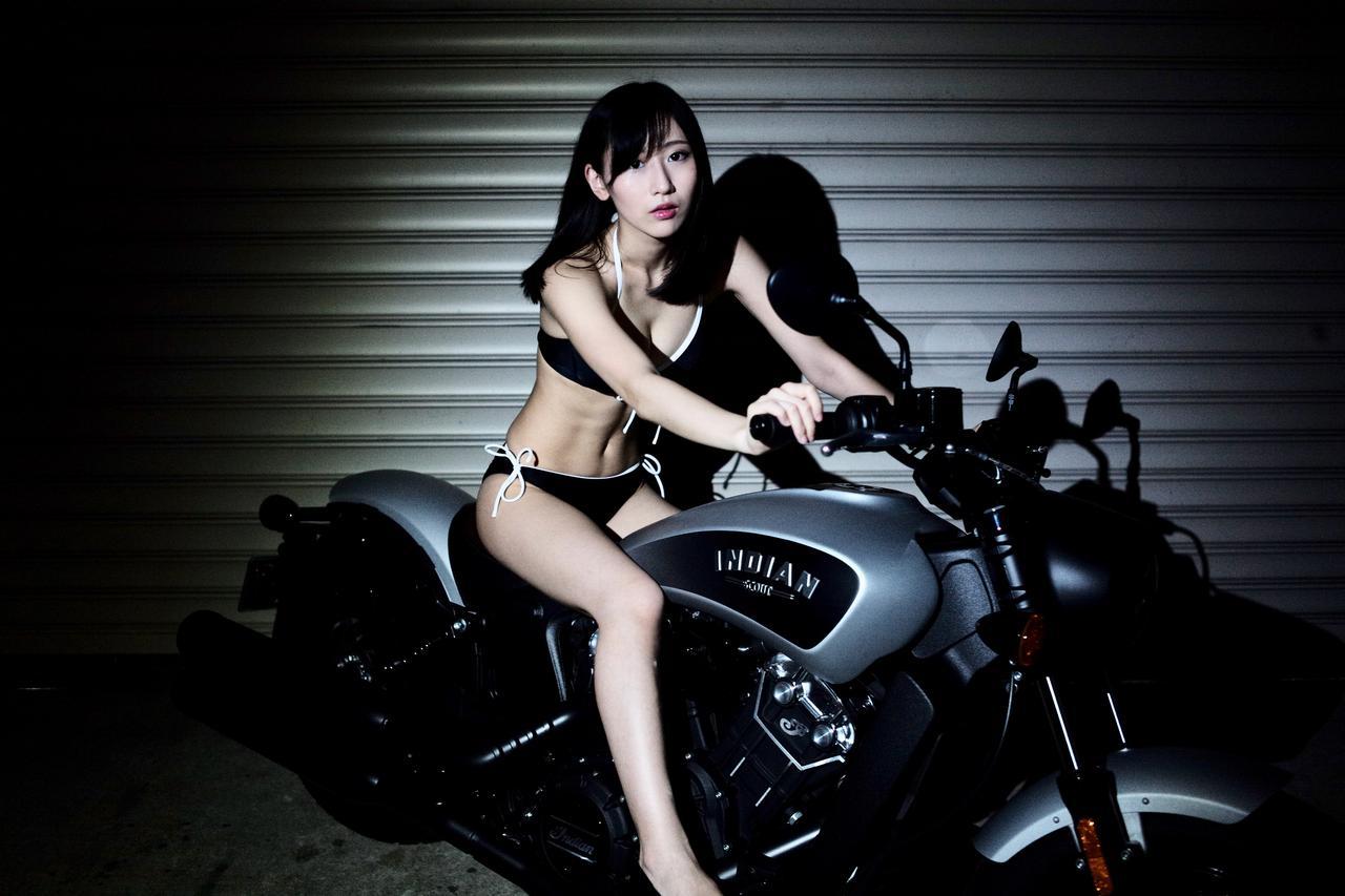 画像4: 【Beauty & Bike】璃彩と澪とインディアン vol.07