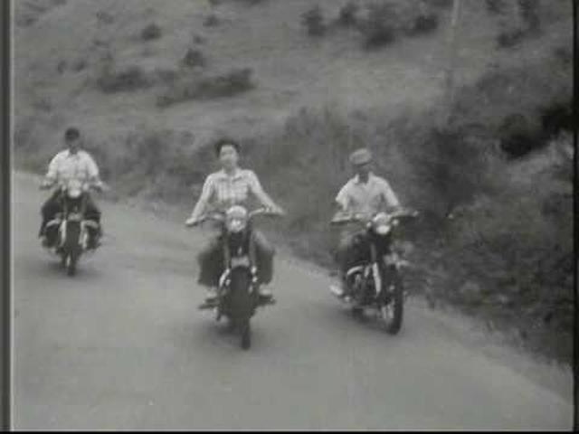 画像: MEGURO REX-Y 350cc Japanese Motorcycle of the 50's (1953)メグロ350ccレックス號Y型 CM youtu.be