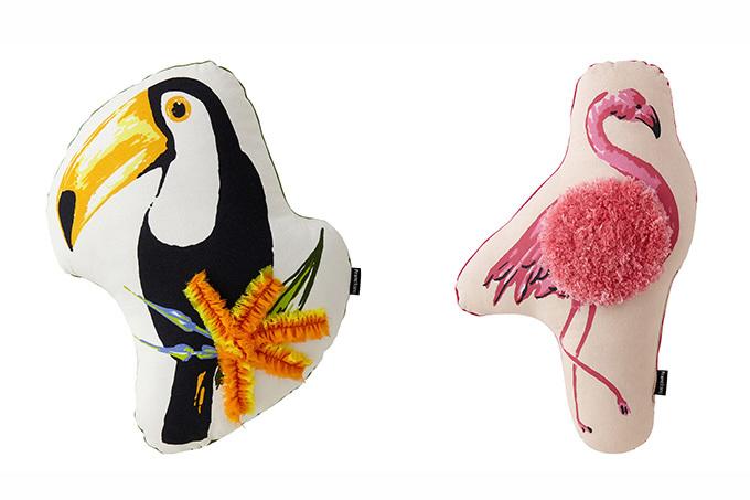 画像: ロピー/フラミオ  クッション 各¥2,500 www.francfranc.com
