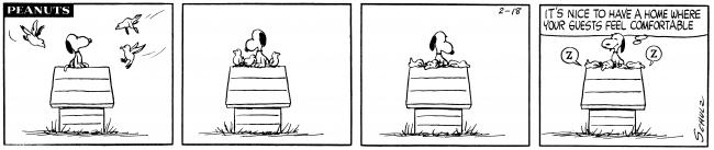 画像: PEANUTS Comic Strip:(C)1961 Peanuts Worldwide LLC