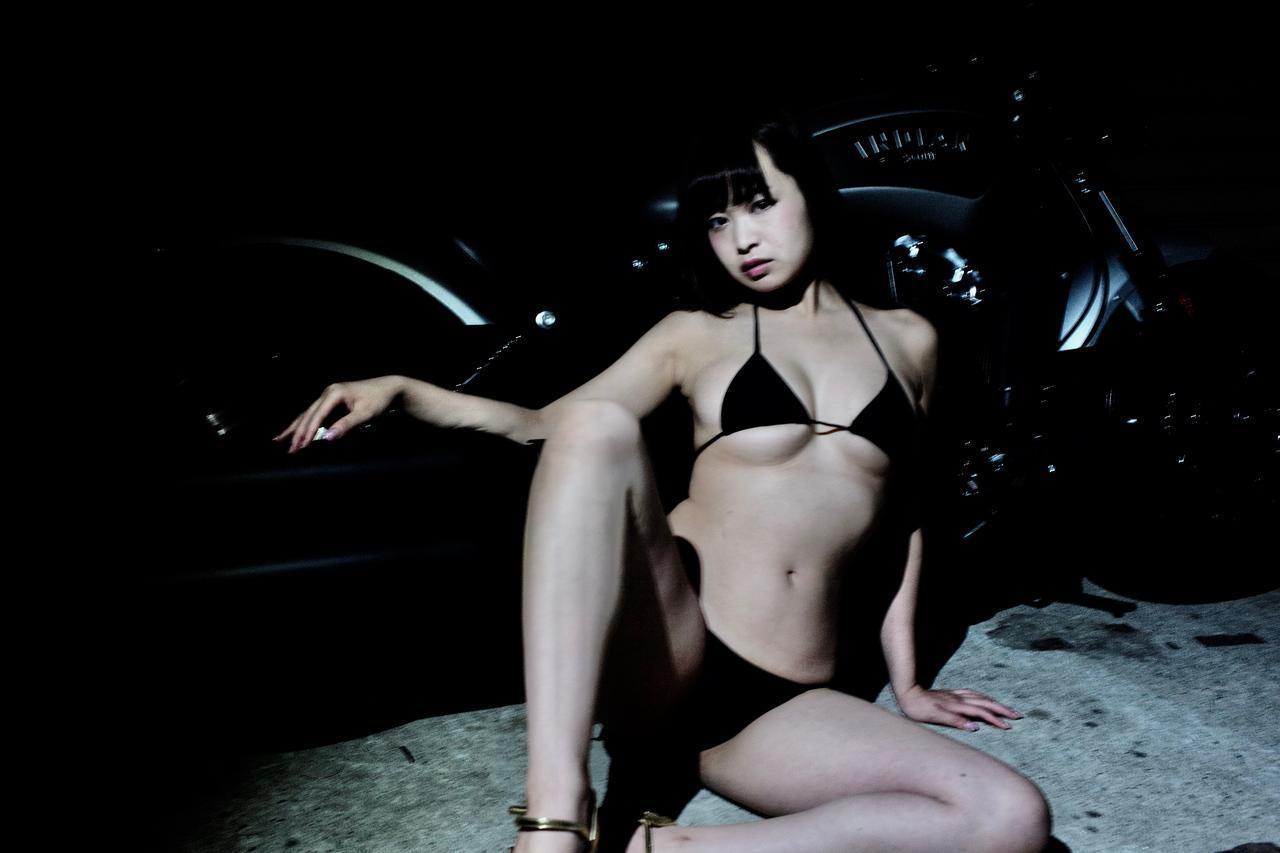 画像2: 目黒璃彩はトリプルセブン(平成7年7月7日生まれ)! 【Beauty & Bike】特別編: