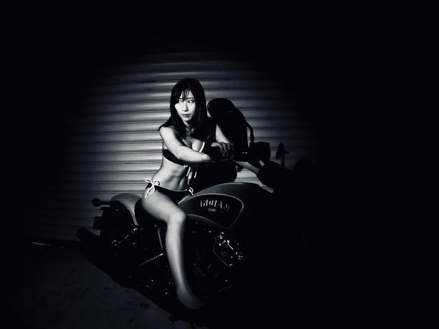 画像3: 【Beauty & Bike】璃彩と澪とインディアン vol.14