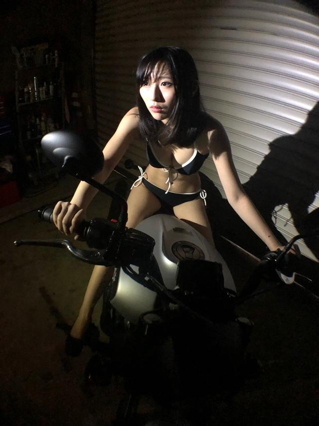 画像4: 【Beauty & Bike】璃彩と澪とインディアン vol.15