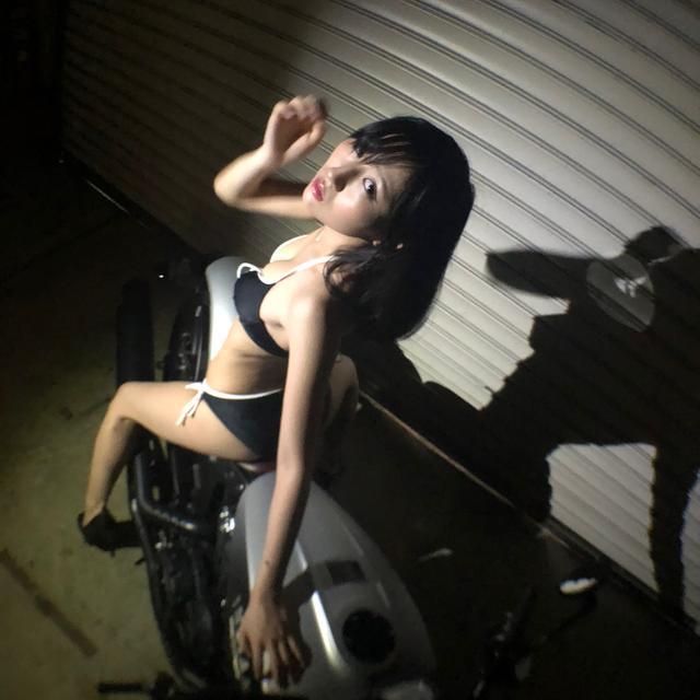 画像5: 【Beauty & Bike】璃彩と澪とインディアン vol.17
