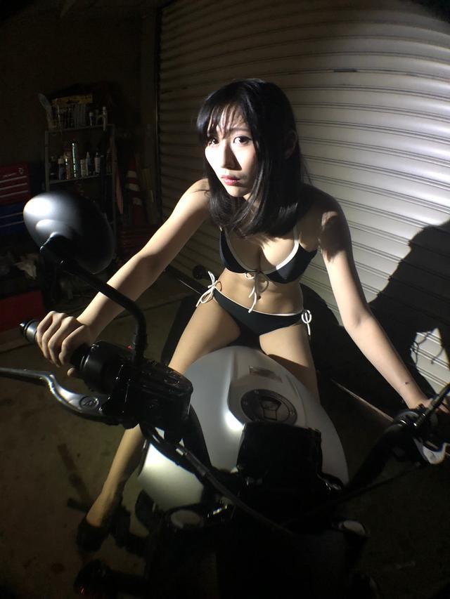 画像1: 【Beauty & Bike】璃彩と澪とインディアン vol.16