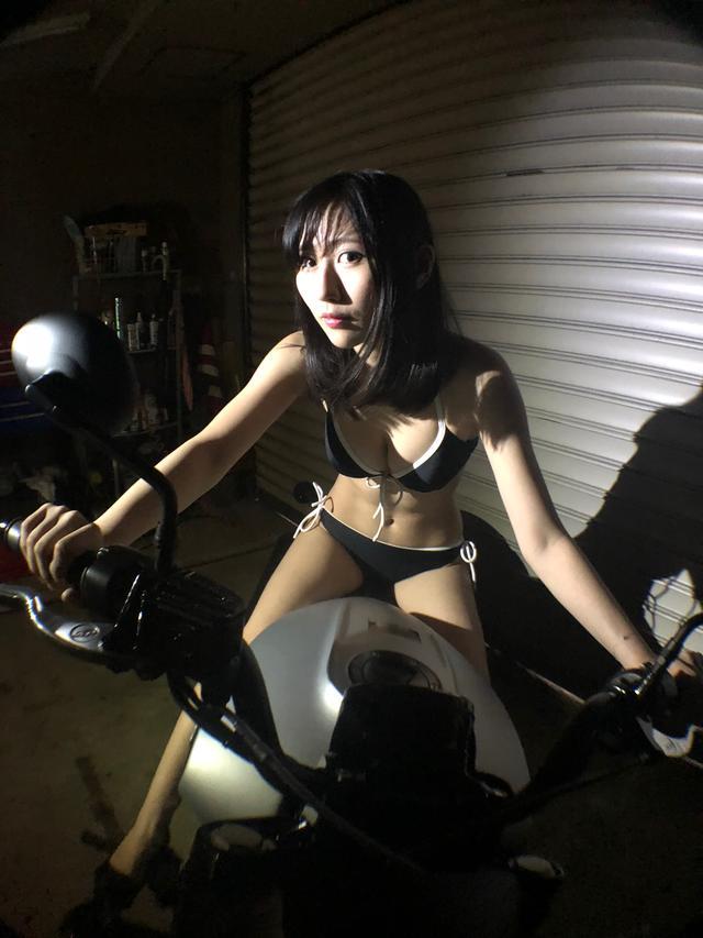 画像2: 【Beauty & Bike】璃彩と澪とインディアン vol.16
