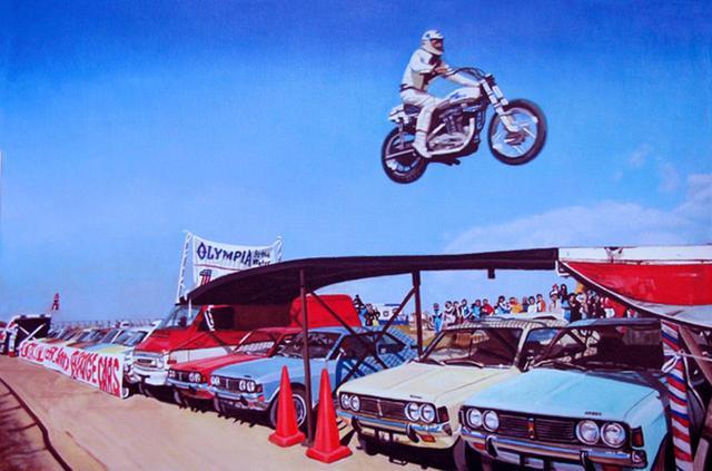 画像: 空を見ろ、鳥だ、飛行機だ・・・イーブルだ! - LAWRENCE - Motorcycle x Cars + α = Your Life.