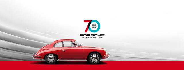 画像: ポルシェ・シンガポールのサイトでも70周年をお祝い。 www.porsche.com