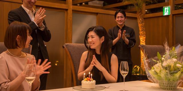 画像: 誕生日や記念日のアニバーサリープランもあります☆ komorebi.bz