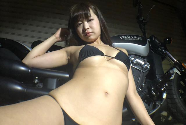 画像2: 【Beauty & Bike】璃彩と澪とインディアン vol.20