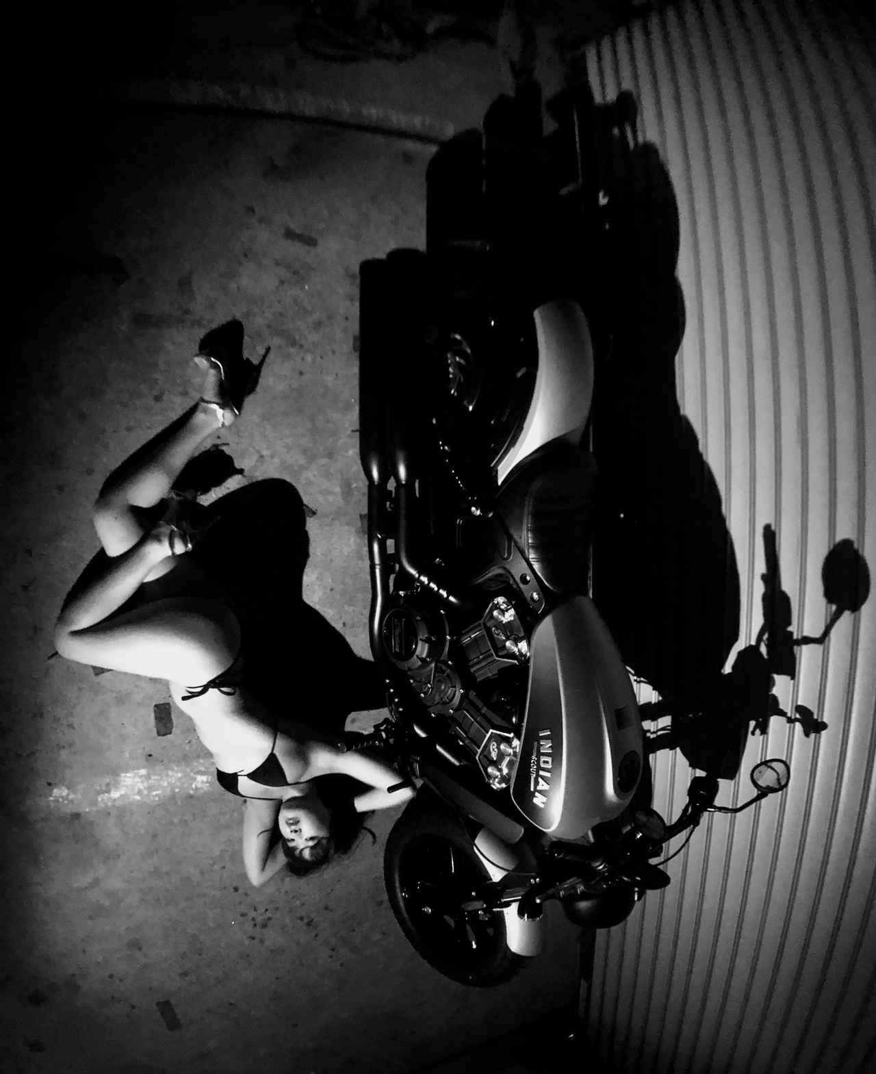 画像2: 【Beauty & Bike】璃彩と澪とインディアン vol.22