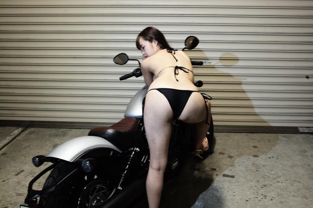 画像2: 【Beauty & Bike】璃彩と澪とインディアン vol.24