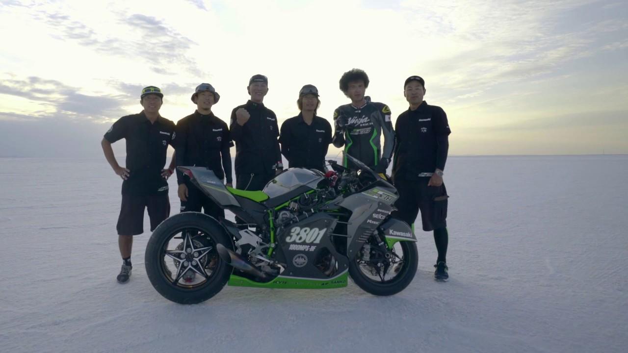 画像: Ninja H2R | Bonneville Speed Week with Team 38 www.youtube.com
