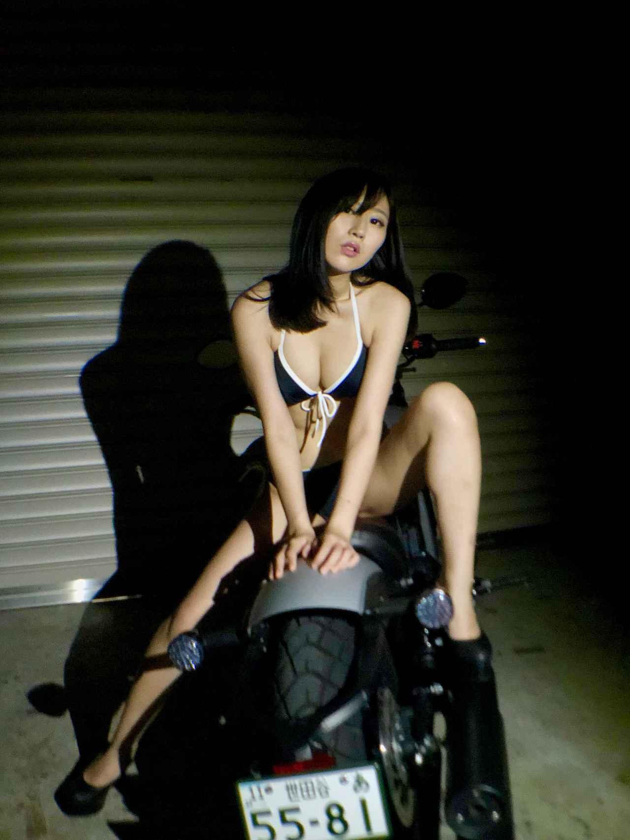 画像3: 【Beauty & Bike】璃彩と澪とインディアン vol.29