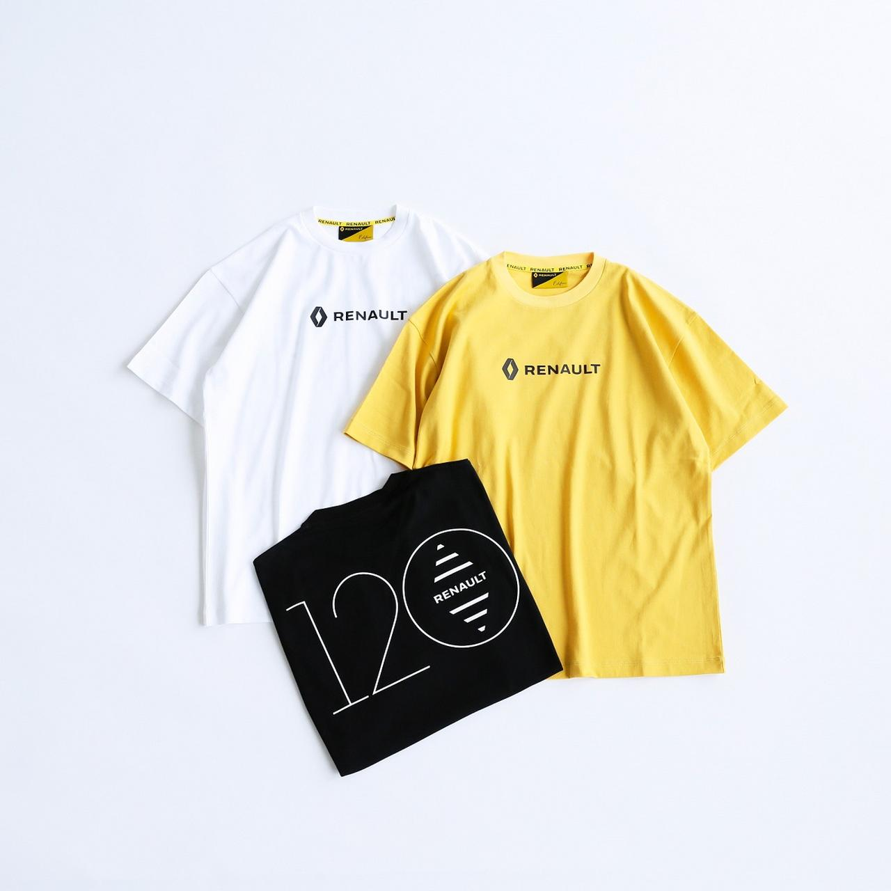 画像: 120周年ロゴ 5,800円/サイズM、 L/ホワイト、 ブラック、 イエロー