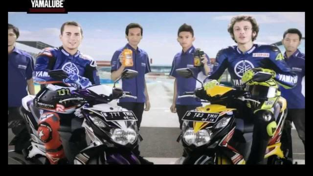 画像: Yamalube TV Commercial (with Jorge Lorenzo and Valentino Rossi) youtu.be
