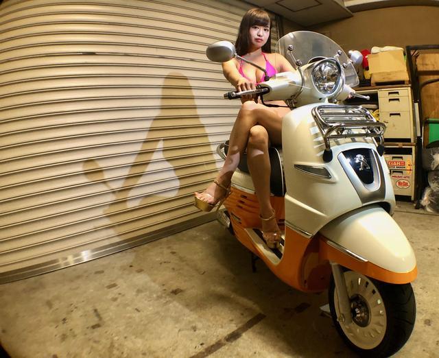 画像3: 【Beauty & Bike】璃彩と澪とプジョー ジャンゴ Vol.03