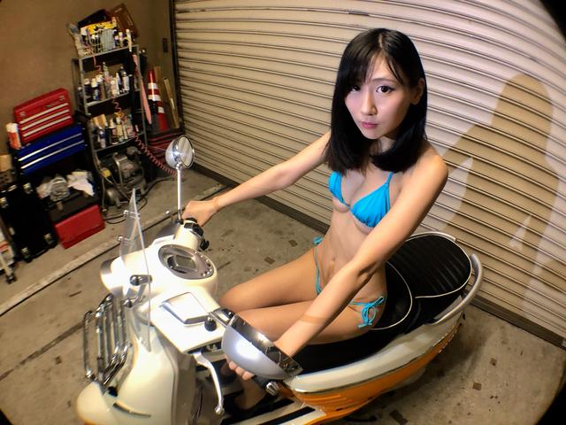 画像3: 【Beauty & Bike】璃彩と澪とプジョー ジャンゴ Vol.05