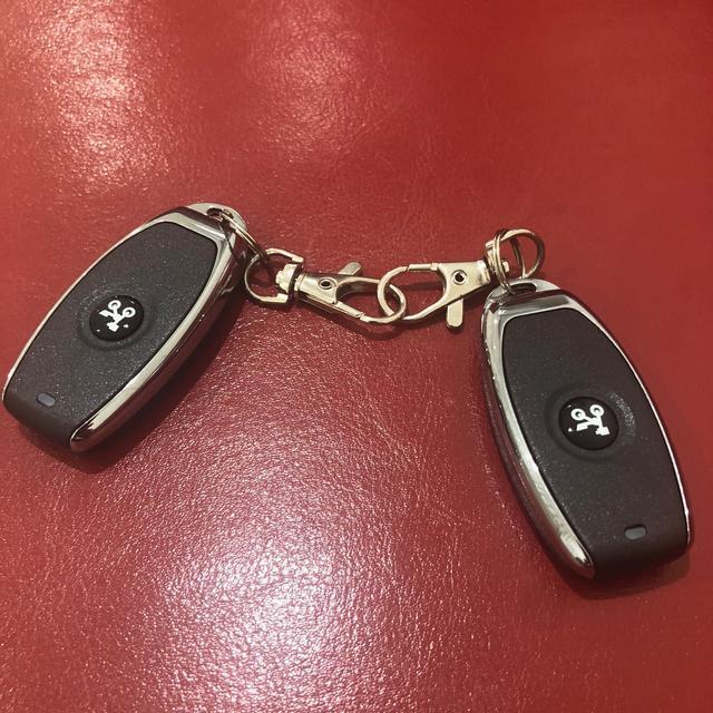 画像: スマートキーが二個。もちろん一個は予備です。