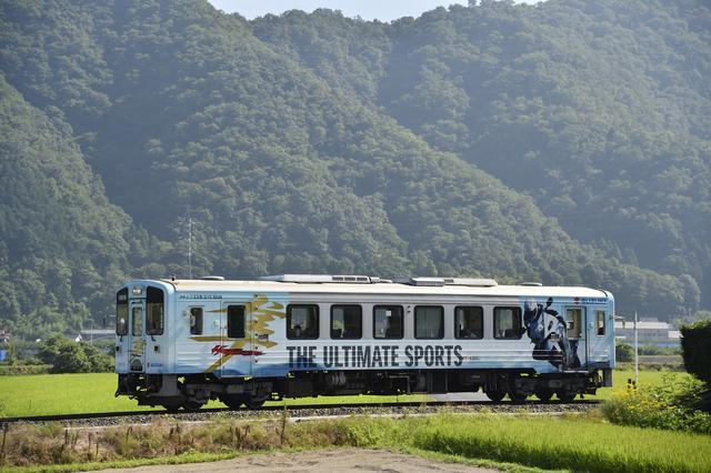 画像: 隼電車も元気に運行中です!