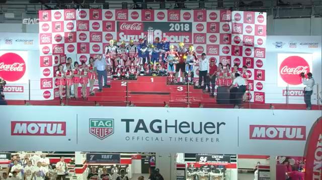 画像: ヤマハ ファクトリー レーシング チームは、鈴鹿8耐史上初の同一チームの4連覇を達成! そしてF.C.C. TSR ホンダ フランスは、見事日本勢として初の世界耐久王者に輝きました! www.youtube.com