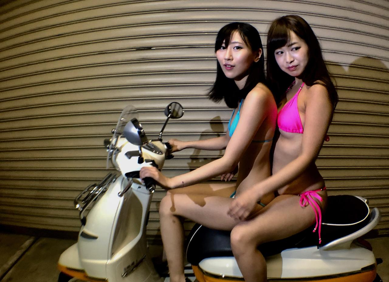 Images : 7番目の画像 - 「【Beauty & Bike】璃彩と澪とプジョー ジャンゴ Vol.12」のアルバム - LAWRENCE - Motorcycle x Cars + α = Your Life.