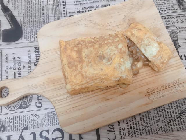 画像1: 納豆チーズ卵焼き