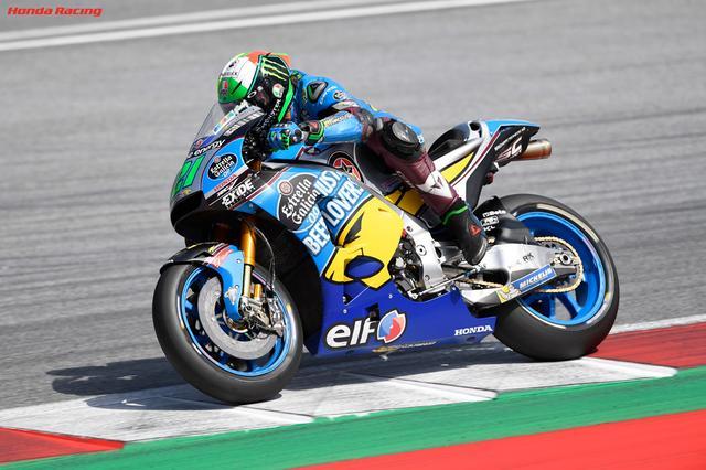 画像: オーストリアGPでは19位に終わったF.モルビデリ www.honda.co.jp