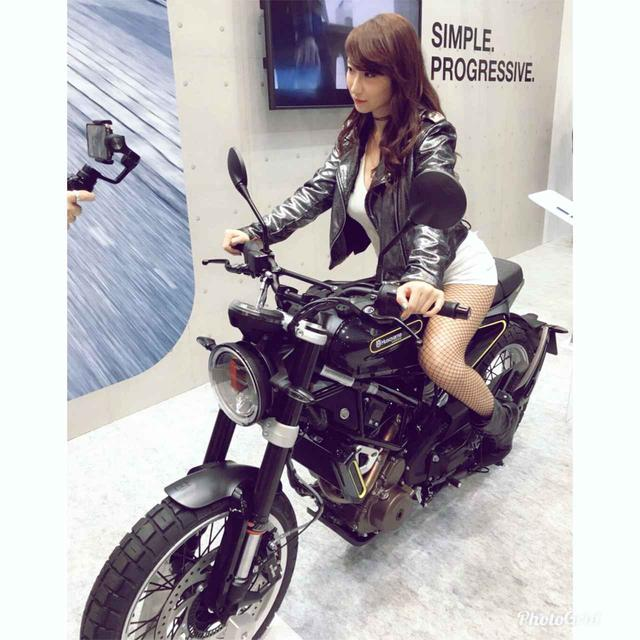 画像: 『東京モーターサイクルショー2018』でのミク様の動画をまとめてみた! - LAWRENCE - Motorcycle x Cars + α = Your Life.