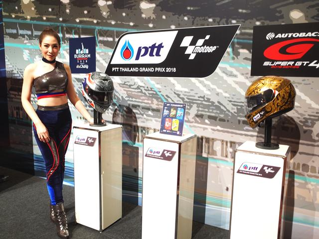 画像: プレスカンファレンス後の催し「ブリーラム・ナイト」のディスプレイ。カンファレンスでは将来の4輪F1開催の可能性についての質疑もありましたが・・・回答はなく肩透かしを食らったかたちでした(笑)。©︎ロレンス