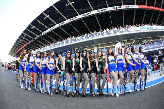 画像: タイと日本の交流の深まりの機会に、MotoGPタイラウンドがなるといいですね・・・。そして美しいタイ美女との交流も深めたい・・・ですね? www.thailandtravel.or.jp