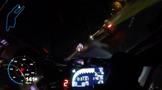 画像: 夜をぶっとばせ!・・・でも、暗くてコワイですぅ〜!? - LAWRENCE - Motorcycle x Cars + α = Your Life.