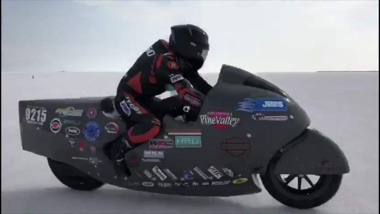 画像: Hiro Koiso Racing - The fastest sit-on Harley-Davidson in history, 2018 BMST youtu.be