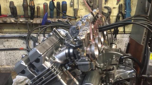 画像: Millyard 374cc six cylinder engine First Start youtu.be