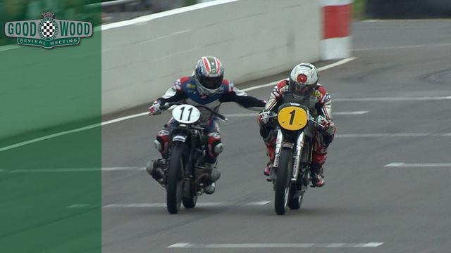 画像: Troy Corser gets cheeky during overtake at Revival youtu.be
