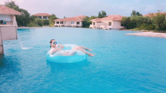 画像: 3つのプールで一日中楽しめる!