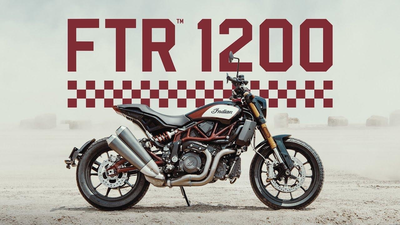 画像: Introducing the FTR 1200 - Indian Motorcycle youtu.be