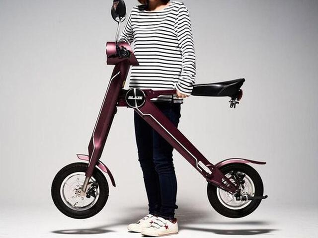 画像: クルマ旅行のお供に、折りたたみ式バイクはいかが?電動モバイルバイク「BLAZE SMART EV」 - LAWRENCE - Motorcycle x Cars + α = Your Life.