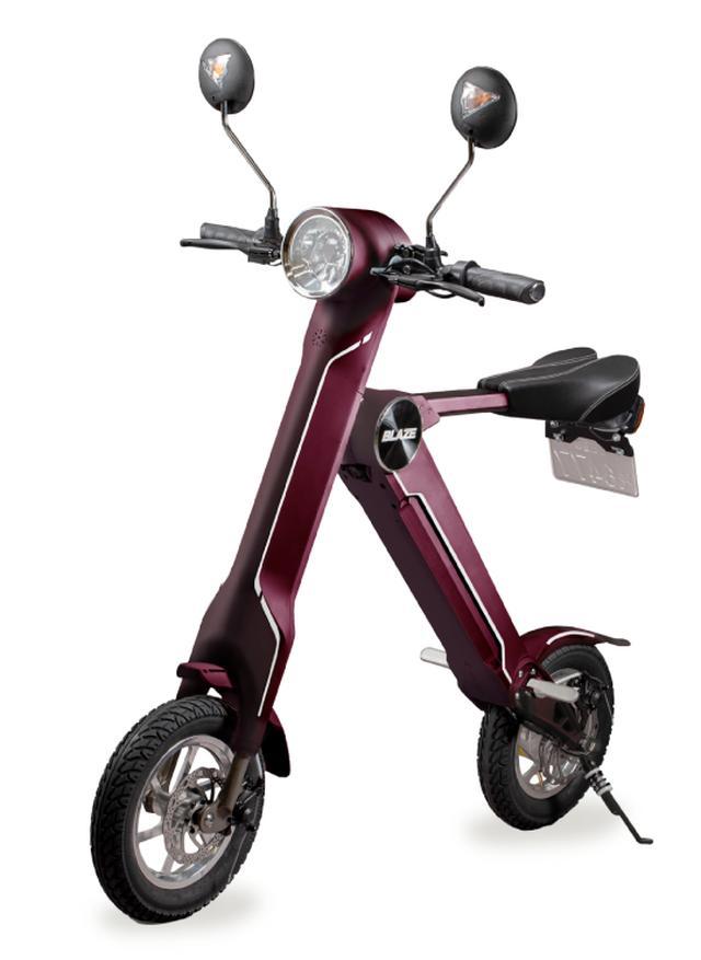 画像: BLAZE SMART EV(ブレイズスマートEV)100%電動バイク