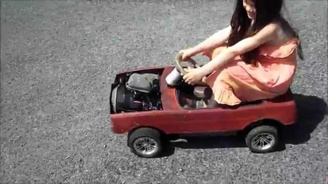 画像: THE KIDS ROTARY PEDAL CAR FIRST OUTING youtu.be