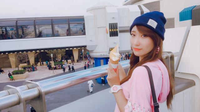 画像: 昼は暑かったのでソフトクリーム!パンプキン濃厚で美味しかった☆