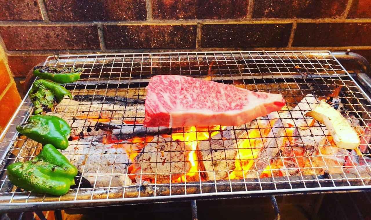 画像: ちょっと豪華なお肉も!!最高!!