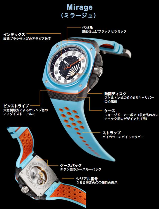画像2: 伝説のレースカーか憧れの映画か…個性派時計ブランド「Gorilla」の新作がアツすぎる